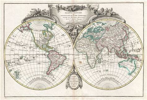 globe maps for sale mappe monde ou description du globe terrestre assujettie