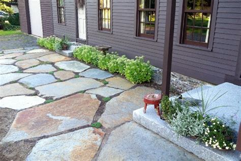Design Ideas For Flagstone Walkways Walkway Ideas Front Walkway Designs Houselogic