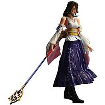 figurine final fantasy x play arts kai yuna jeux vidéo