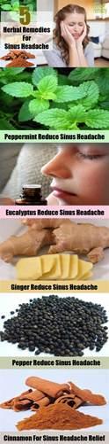 Sinus Headache Home Remedies by 5 Sinus Headache Herbal Remedies Treatments And Cures