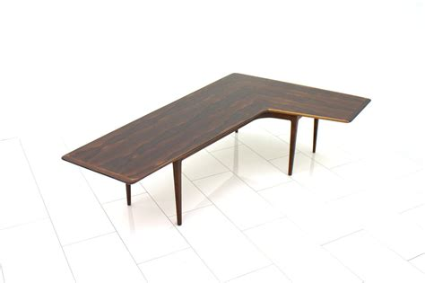 L Shaped Coffee Table L Shaped Rosewood Coffee Table 1960s For Sale At Pamono