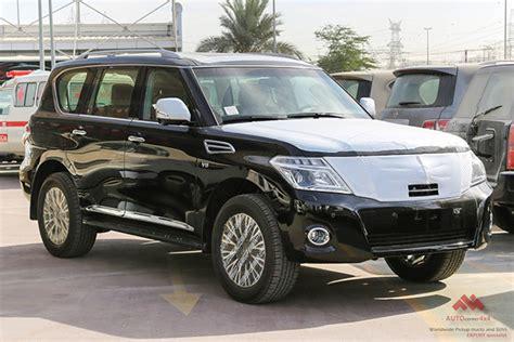 nissan patrol platinum 2015 my black nissan patrol se platinum export ready