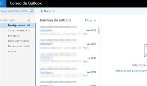 bandeja de hotmail entrada hotmail correo c 243 mo entrar a tu bandeja de entrada lo