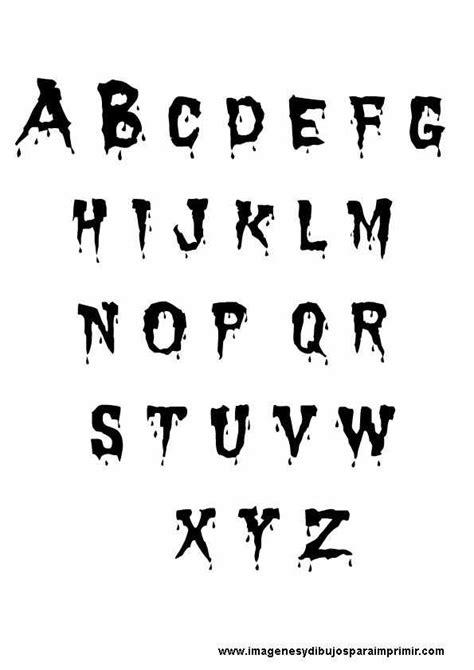 imagenes de halloween letras halloween letras sangre