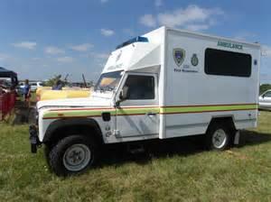 ambulance photos land rover ambulance at airshow