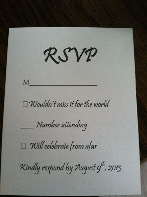 wedding response wording wedding rsvp card stationery wedding on and world