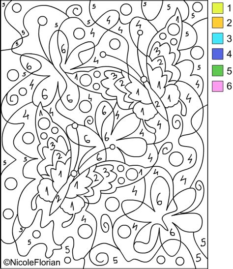 Free Coloring Pages Color By Number Coloring Pages Color By Number For Boys Free