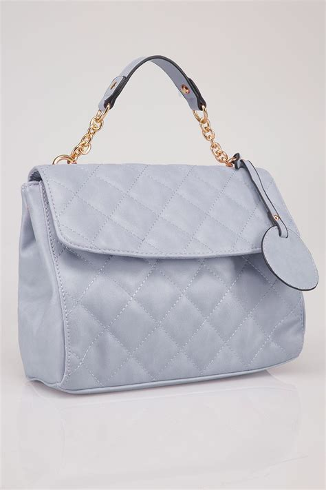 Quilted Cross Bag by Blue Quilted Cross Bag