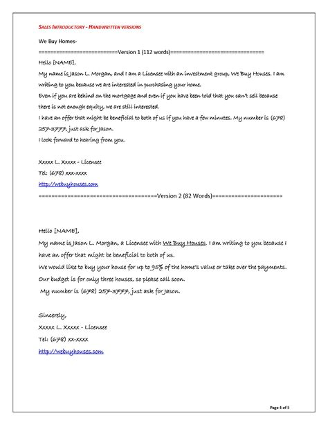 real estate cover letter sles sales letters grovers copywriting