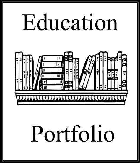 abcteach printable worksheet portfolio cover 4