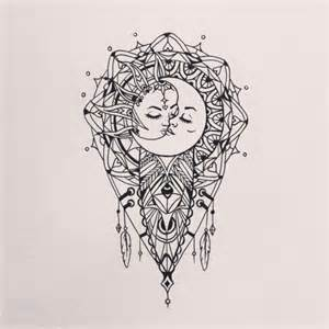 sun and moon mandala drawing google search