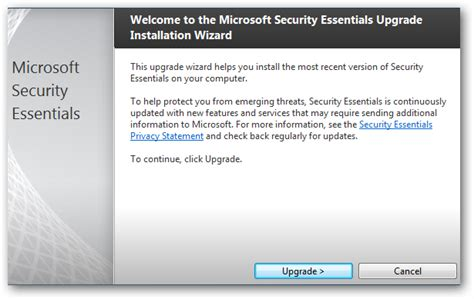 screenshot tour microsoft security essentials 2 0 beta