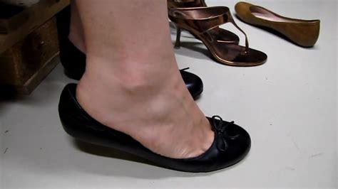 dangling flat shoes dangling in black buffalo ballerinas flats