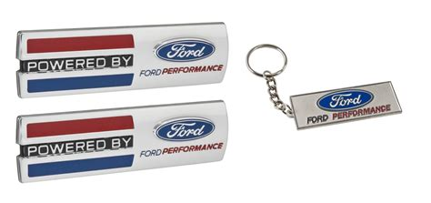 powered by ford emblem mustang quot powered by ford performance quot 5 5 quot emblems w