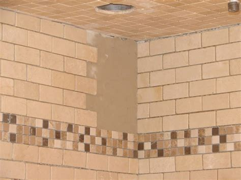 how to put down tile in bathroom how to install tile in a bathroom shower hgtv