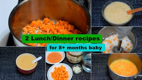 dinner recipes for 8 2 lunch dinner recipes for 8 months baby l healthy baby