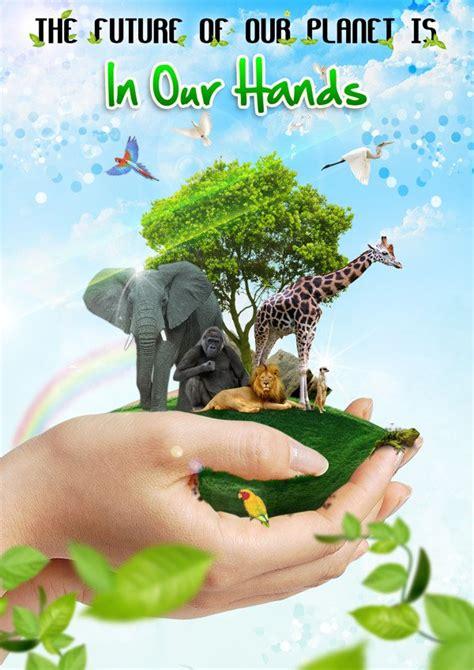 15 contoh gambar desain poster lingkungan quot go green quot alul stemaku