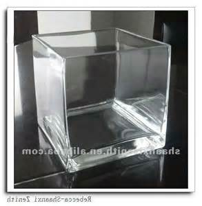 Cheap Cube Vases by Glass Photo Cube Vases