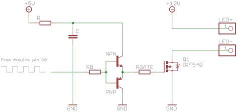 transistor mosfet driver starlight september 2012