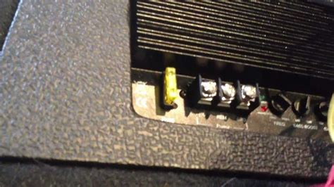 how to wire up a car and subwoofer in house the