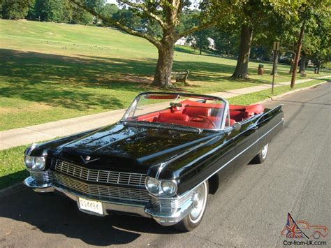 1964 Cadillac Convertible For Sale by 1964 Cadillac Convertible 13k Mile Factory