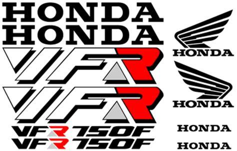 Honda Vfr 750 Rc24 Aufkleber by High Quality Honda Decal Sets Vfr Series