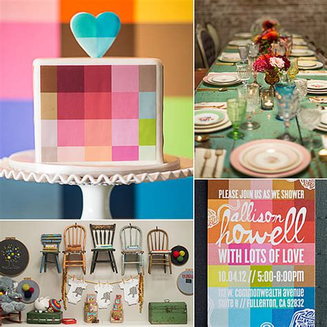 Boy Colors For Baby Shower by Vintage Cool Color Filled Baby Shower Pictures Photos