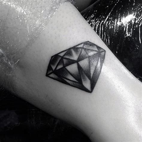 tattoo diamond black and grey 50 traditional diamond tattoo designs for men jewel ink