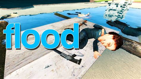 how to make a boat not sink build boat float sink boat gmod flood youtube