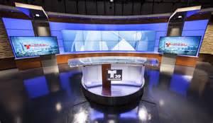 News Studio Desk by Image Gallery News Studio Desk