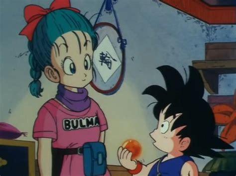 imagenes de goku x bulma bulma se enamora de goku fotos de dragon ball