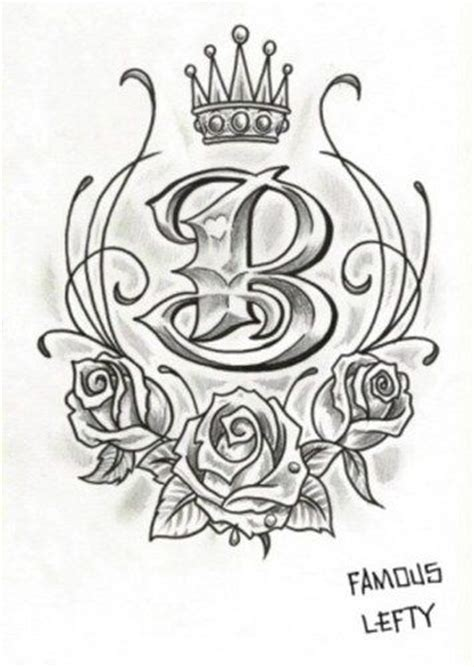 tattoo letter b designs 25 best ideas about letter b on letter