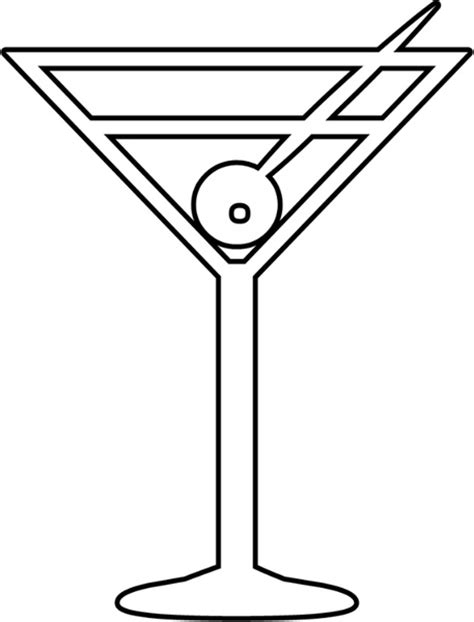 martini svg martini free vector in open office drawing svg svg