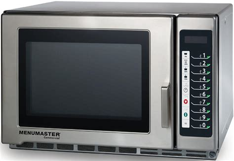Microwave Menumaster amana large 1800w commercial microwave oven rfs518ts