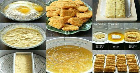 bahan dan cara membuat nugget pisang beginilah rahasiah bikin dan tutorial cara membuat nugget