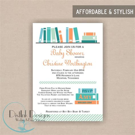 baby shower book invitations library book baby shower invitation ideas