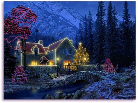 christmas screensavers  windows   christmas cottage screensaver holiday season scree