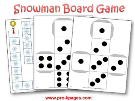 free printable winter board games winter theme activities for preschool