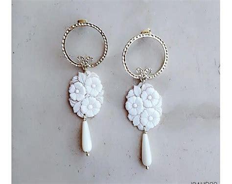 orecchini a fiore oltre 25 fantastiche idee su orecchini a fiore su