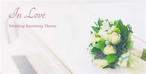 bootstrap templates for wedding awesome wedding blog templates free premium themes