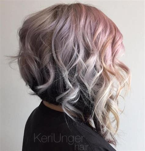 one side stack sassy bob bllack hair 25 best ideas about layered wavy bob on pinterest shorter hair cuts lob haircut and haircuts