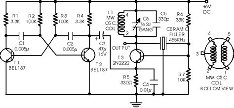 diagram of a simple generator simple if signal generator electronics circuits hobby