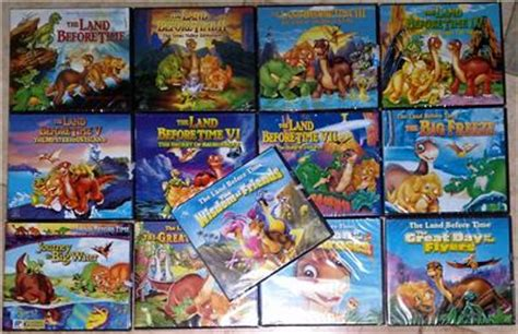 Vcd Journey 2 The Mysterious Island Original Vision the land before time complete set vol 1 13 vcd brand new
