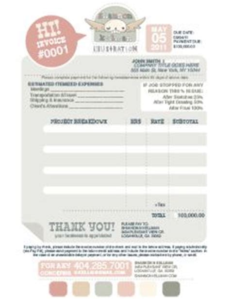 invoices inspiration on pinterest 20 pins