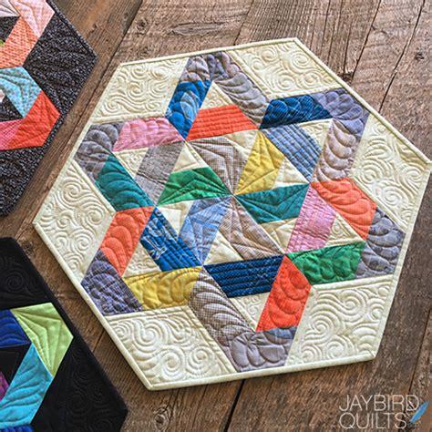Jaybird Quilt by A New Jaybird Quilts Pattern Meet Gazebo Table Topper