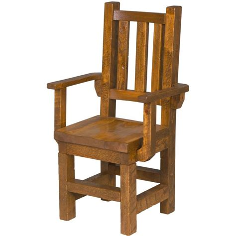 Barnwood Dining Chairs Tables And Seating Barnwood Dining Chair With Arms Bw58