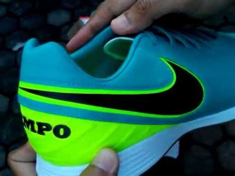 Sepatu Futsal Nike Teimpo Legend Stabilo sepatu futsal nike tiempo mystic v ic clear jade 819222 307 unboxing