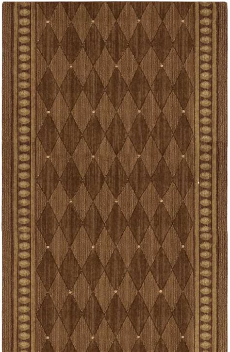 3 foot wide runner rugs nourison cosmopolitan c94r r43 marquis cocoa 3 foot wide and stair runner