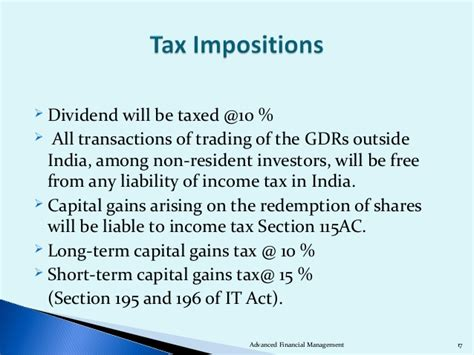 section 10 26 of income tax act adr and gdr