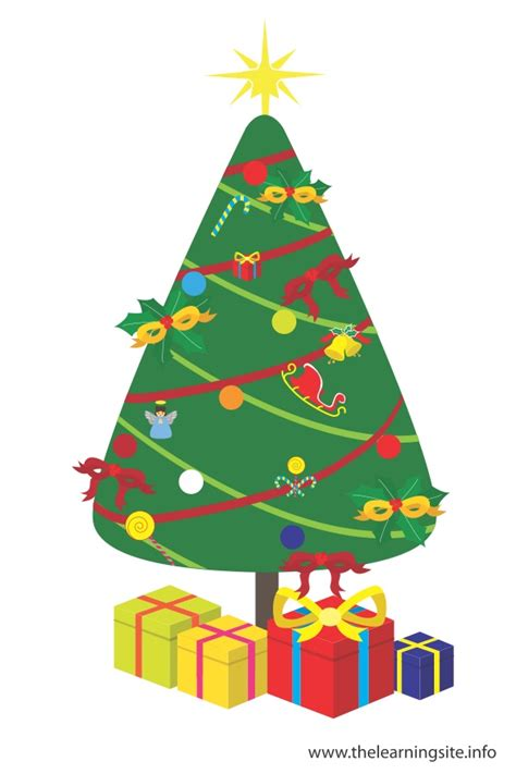 christmas decorations flashcards the learning site